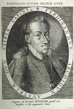 Erzherzog Ferdinand kauft das Absteigequartier